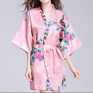Other - 9 robes - light pink and white robes NWT